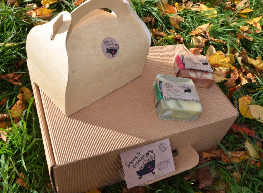 boite en carton pour coffret cadeau petit et grand modèle